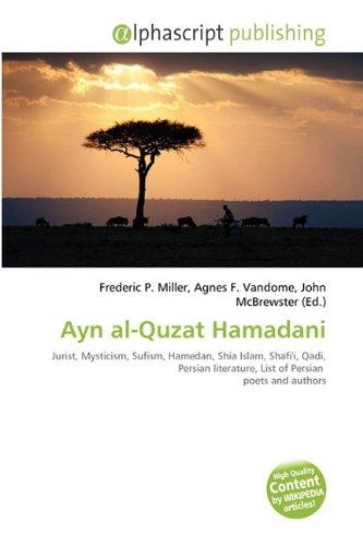 9786135550931: Ayn Al-Quzat Hamadani