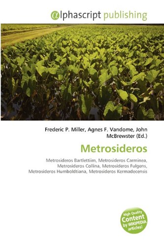 9786135615685: Metrosideros