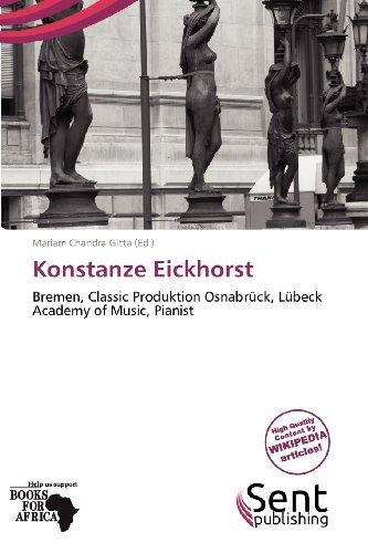 9786135623802: Konstanze Eickhorst