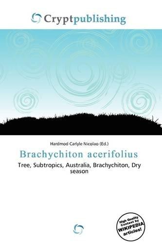 9786135755725: Brachychiton Acerifolius