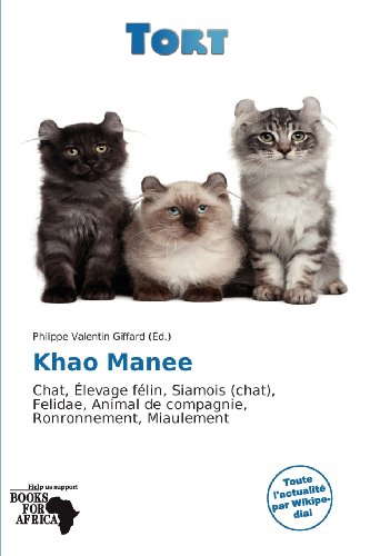 9786136240848: Khao Manee (French Edition)