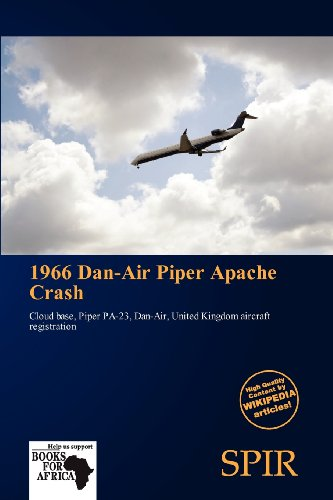 9786136284033: 1966 Dan-Air Piper Apache Crash