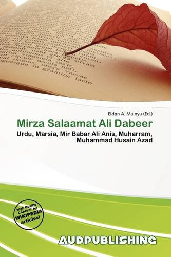 9786136613833: Mirza Salaamat Ali Dabeer