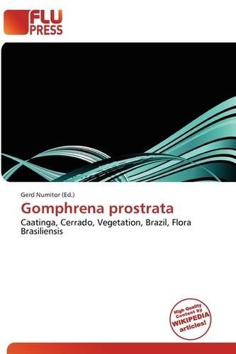 9786136736181: Gomphrena Prostrata