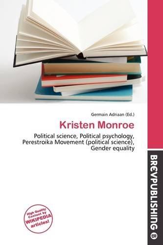 9786136923598: Kristen Monroe