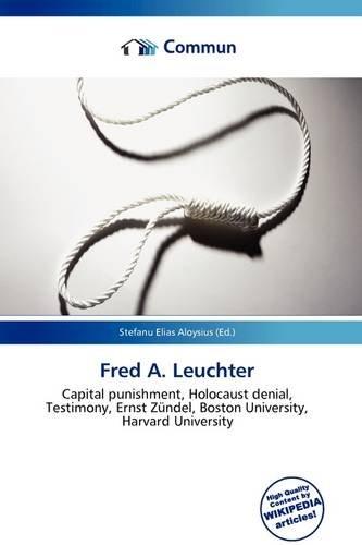 9786136996080: Fred A. Leuchter
