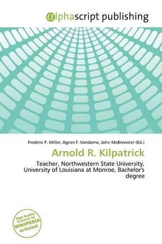9786137003282: Arnold R. Kilpatrick