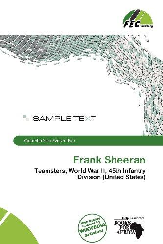 9786137055533: Frank Sheeran