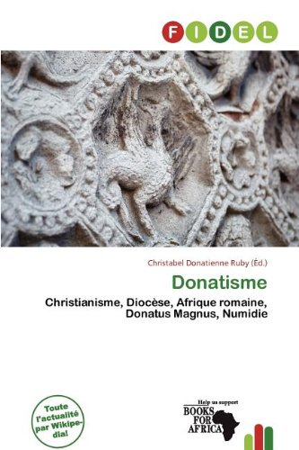 9786137439609: Donatisme (French Edition)