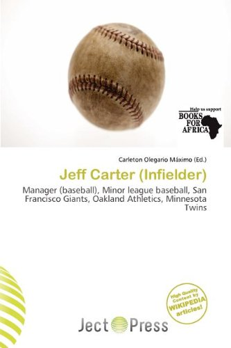 Jeff Carter (Infielder) (Paperback)