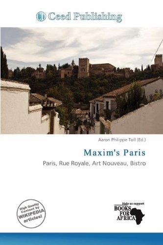 Maxim s Paris (Paperback)