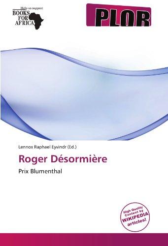 9786137815960: Roger Désormière