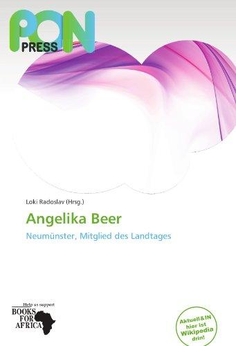 9786137880784: Angelika Beer: Neum�nster, Mitglied des Landtages