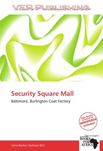 9786137921906: Security Square Mall: Baltimore, Burlington Coat Factory