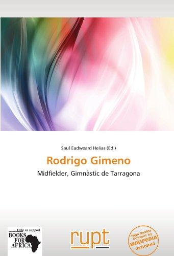 9786137925508: Rodrigo Gimeno
