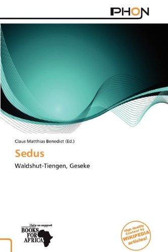 9786137939598: Sedus