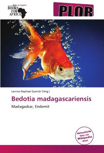 9786137969533: Bedotia madagascariensis: Madagaskar, Endemit