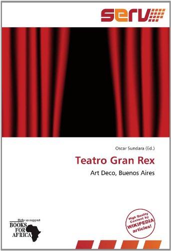 9786137981498: Teatro Gran Rex