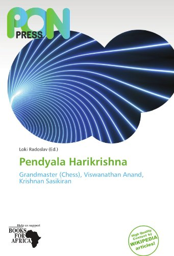 9786137989319: Pendyala Harikrishna: Grandmaster (Chess), Viswanathan Anand, Krishnan Sasikiran