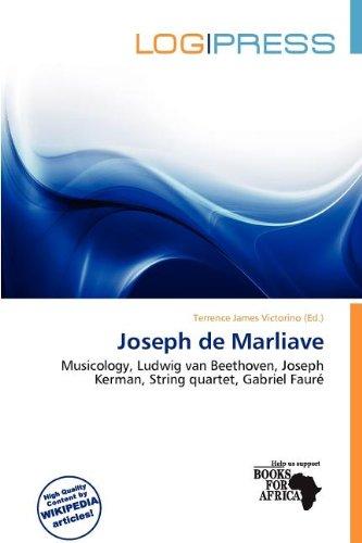 9786138088028: Joseph de Marliave