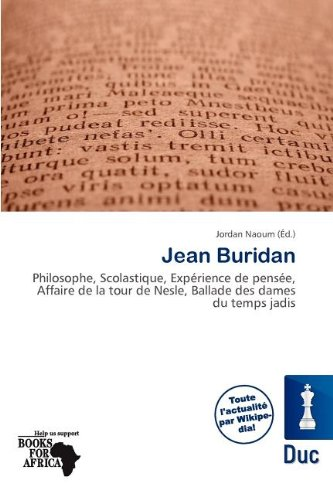 Jean Buridan (Paperback)