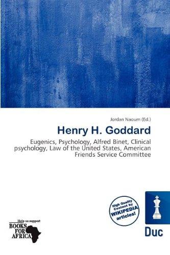 Henry H. Goddard (Paperback)