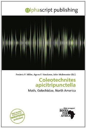 Coleotechnites Apicitripunctella (Paperback)