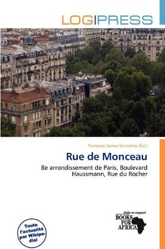 9786138162049: Rue de Monceau