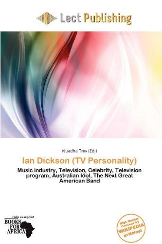 Ian Dickson (TV Personality) (Paperback)