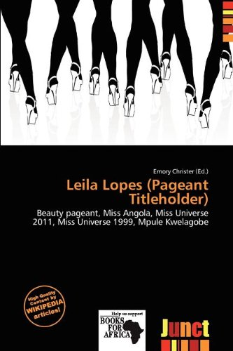 Leila Lopes (Pageant Titleholder) (Paperback)