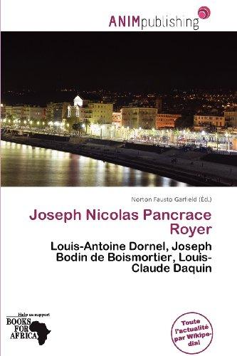 Joseph Nicolas Pancrace Royer (Paperback)