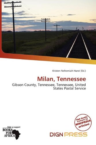 Milan, Tennessee (Paperback)