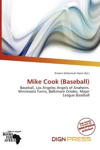 Mike Cook (Baseball) (Paperback)