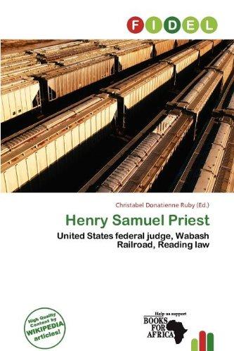 Henry Samuel Priest (Paperback)