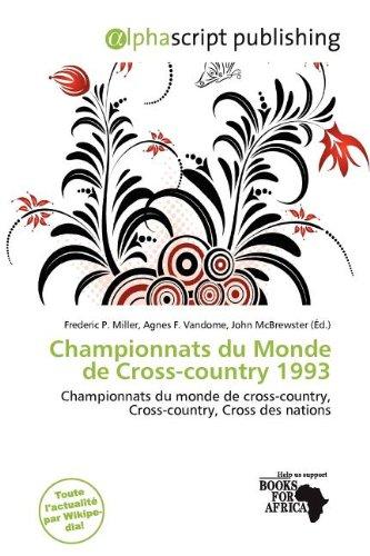 Championnats du Monde de Cross-country 1993: Frederic P. Miller