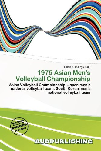 1975 Asian Men s Volleyball Championship (Paperback)