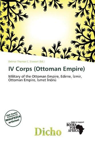 IV Corps (Ottoman Empire) (Paperback)