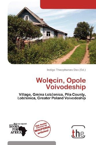9786138544135: Wolecin, Opole Voivodeship
