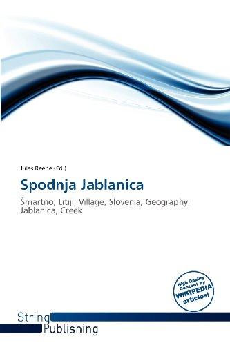 9786138620587: Spodnja Jablanica