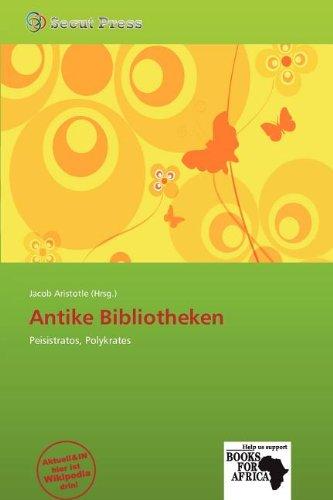 9786138748885: Antike Bibliotheken
