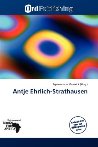 9786138772866: Antje Ehrlich-Strathausen