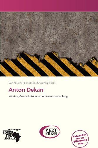 9786138819394: Anton Dekan