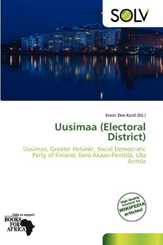 Uusimaa (Electoral District) (Paperback)