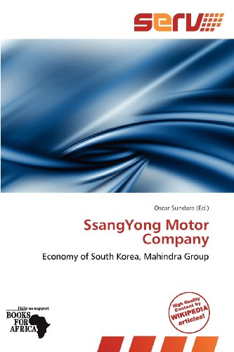 9786139253487: SsangYong Motor Company