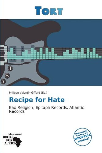 9786139260249: Recipe for Hate