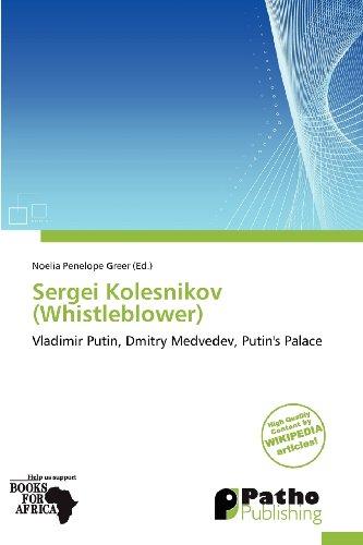 9786139275212: Sergei Kolesnikov (Whistleblower)