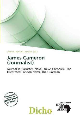 9786139522835: James Cameron (Journalist)