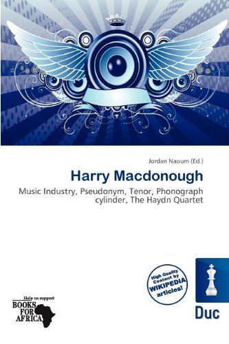 Harry MacDonough (Paperback)