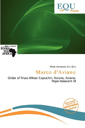 9786139980505: Marco D'Aviano