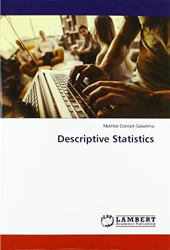 Descriptive Statistics: Mukhtar Danladi Galadima